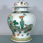 19th C. Vase & Cover- 100 Antiques