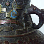 Qing Dynasty Bronze Vase – Archaic Style