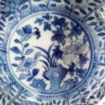 Pair Qianlong M&P Saucer – Rock Garden