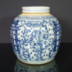 18th/19th C. Jar & Cover – Shuangxi