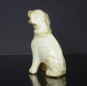 Song Figurine of a Dog - Qingbai