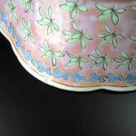 19th C. enameled Bowl – floral