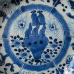 19th C. Saucer – Jellyfish