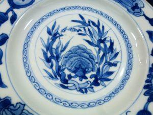 Kangxi Plate – Lotus & Bamboo