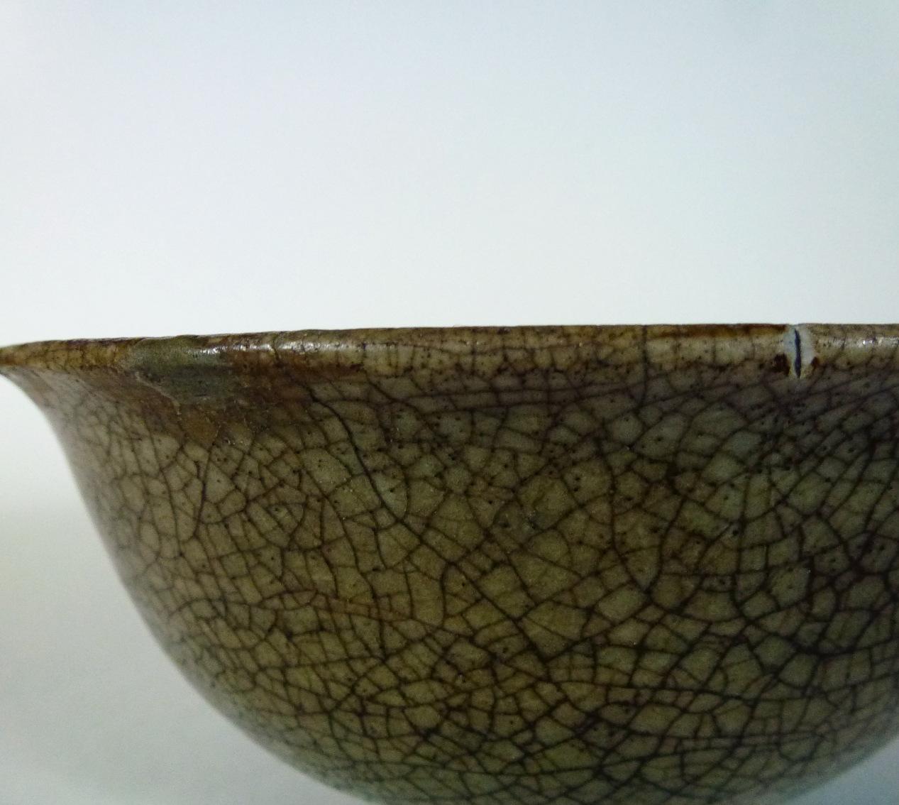 Ming 14th/15th C. Bowl – Craquele