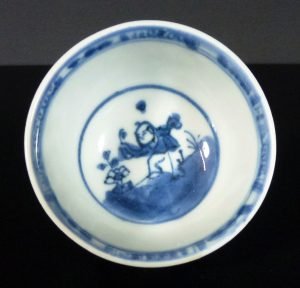 Two Kangxi Cups – Jumping Boy