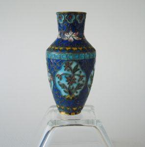 Jiaqing Cloisonne Vase – Four Seasons
