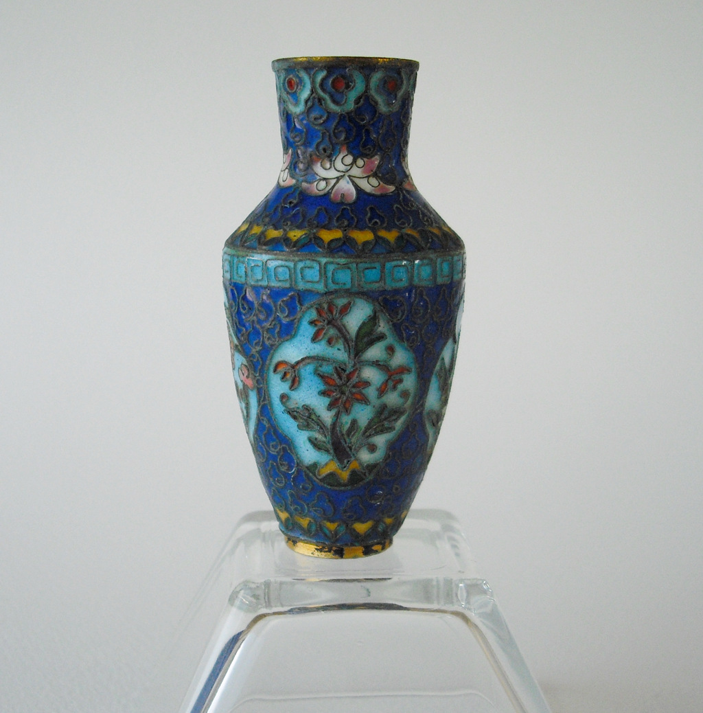 Jiaqing Cloisonne Vase – Four Seasons