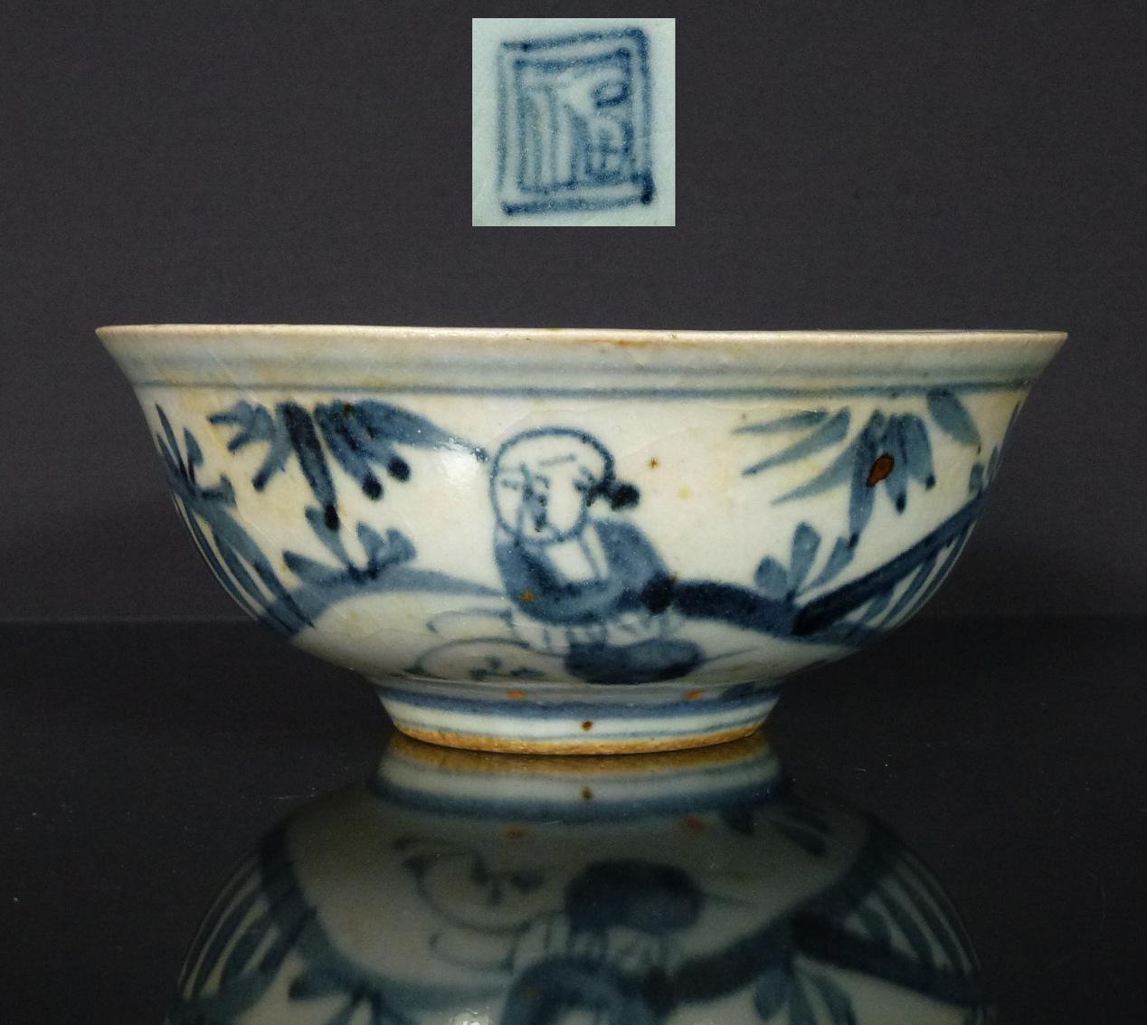 Hongzhi Ming Bowl – People