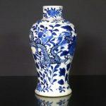 Qianlong Mark & Period Vase - Dragons