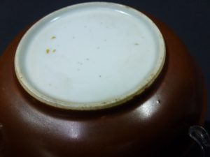Kangxi Saucer – Café-au-lait