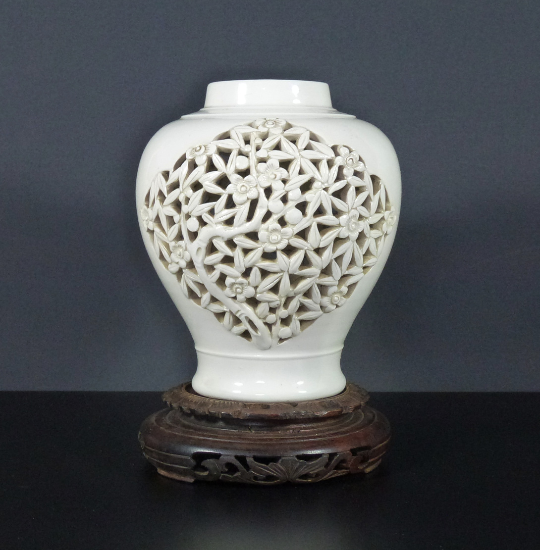 Reticulated Vase – Cherry Blossom