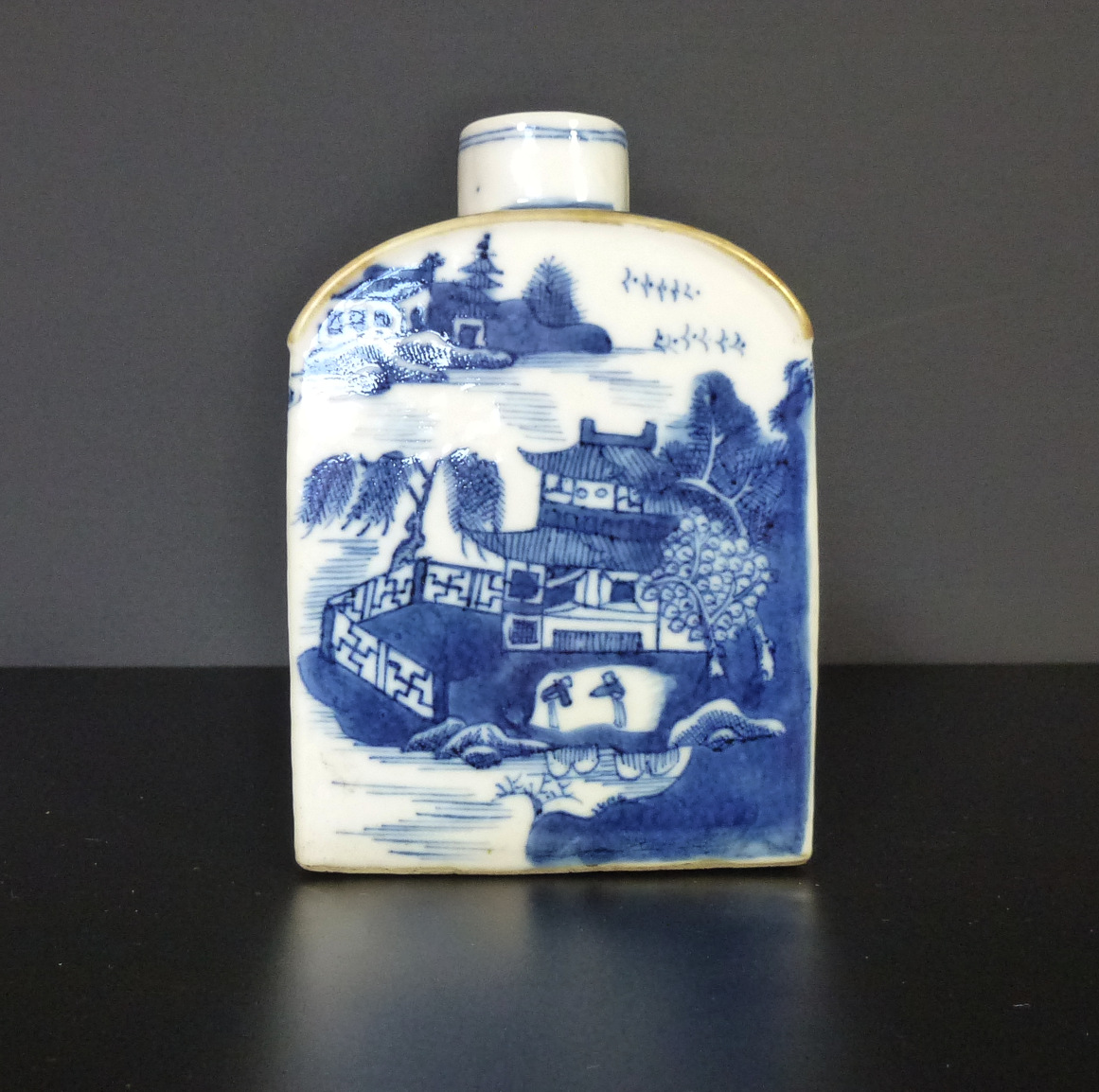 18th C Tea Caddy – Landscape