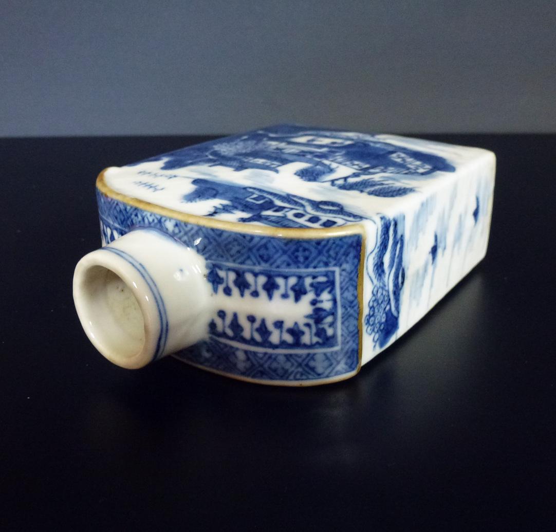 18th C Tea Caddy – Landscape