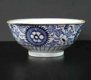 Early 18th C. Bowl – Chrysanthemum