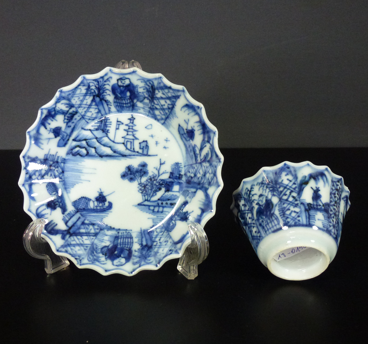 17th C. Transitional Cup & Saucer