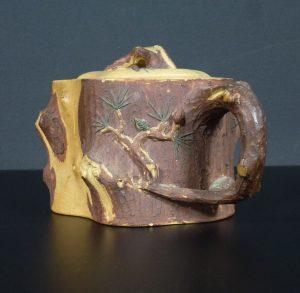 19th C. Yixing Teapot – Tree Trunk