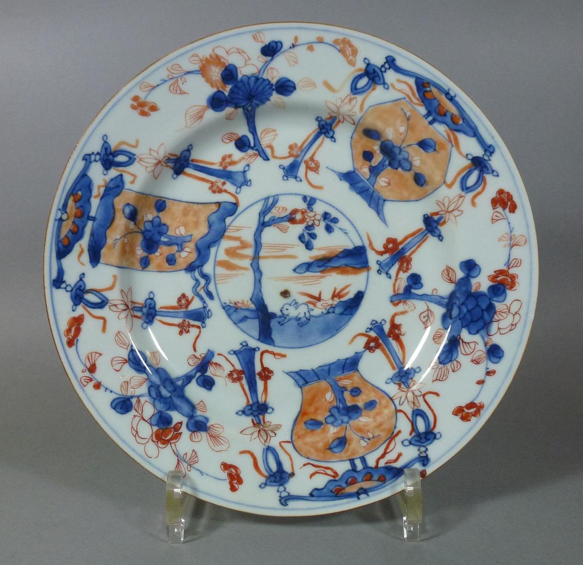 Kangxi Plate – Rabbit