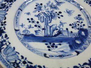 Chinese Yongzheng/Qianlong Plate – Butterflies