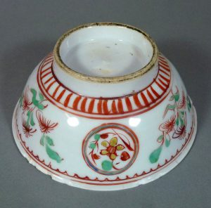 Chinese Ming Tianqi Bowl – Polychrome