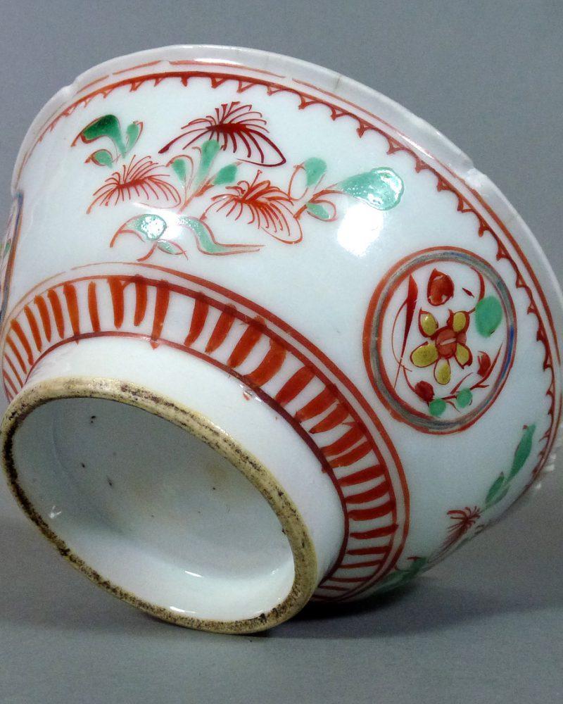Chinese Ming Tianqi Bowl – Polychrome