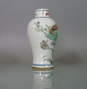 Chinese Kangxi Wucai Vase - Peony & Phoenix