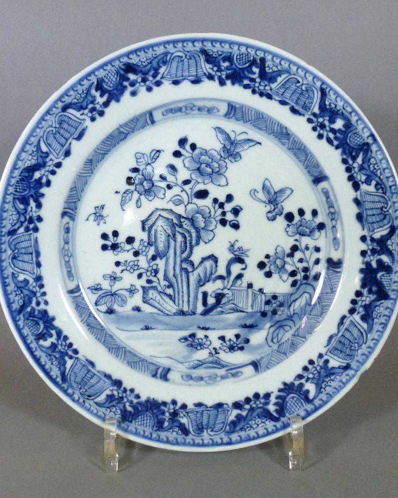 Chinese Yongzheng/Qianlong Plate: 70.- Euro