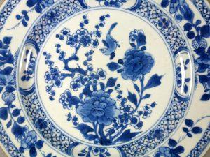 18th C. Chinese Yongzheng/Qianlong Plate – Bird