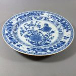 18th C. Chinese Yongzheng/Qianlong Plate – Bird