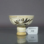 Yuan/early Ming Stem Cup – Cizhou Ware