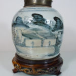 18th C. chinese Ginger Jar - Landscape