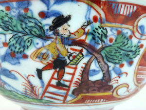 "Chinese 18th C. Bowl ""Amsterdam Bont"" – Cherry Pickers"