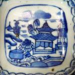 Chinese Wanli Ming Dish – Pagoda