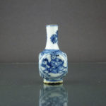 Chinese Kangxi Doll House Vase – Square Shape