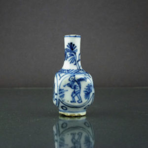 Chinese Kangxi Doll House Vase – Square Shape