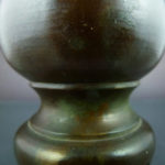 Chinese Ming Dynasty Bronze Vase - Pear-Shaped