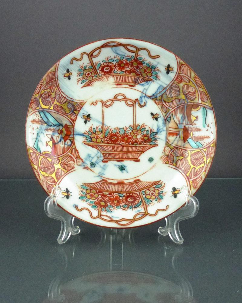 Chinese Yongzheng Period Saucer – Amsterdam Bont
