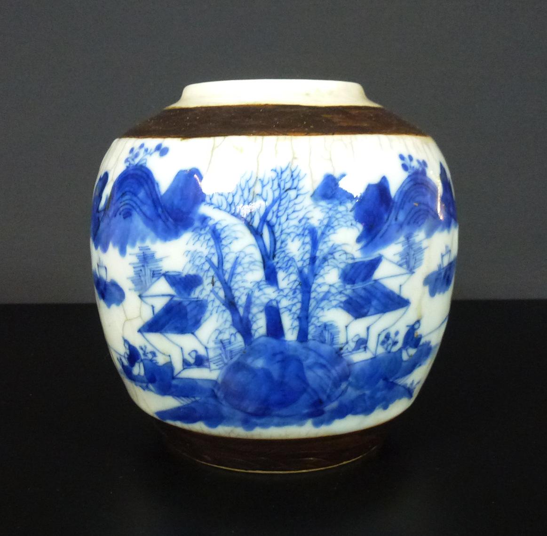19th C. chinese Nanking Porcelain Vase