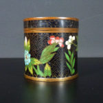 Chinese 19th C. Cloisonne Box – Floral