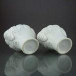 Pair chinese 18th C. Libation Cups – Dehua