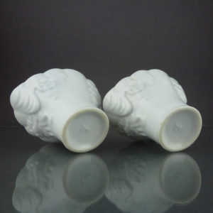 Pair chinese 18th C. Libation Cups – Dehua