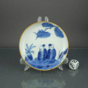 Small 19th C. chinese Dish – Boys
