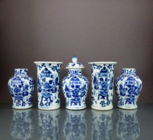 Set 19th C. Chinese Porcelain Vases