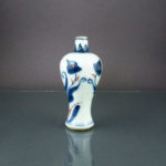 Chinese 17th C. Kangxi Miniature Vase – Tulip