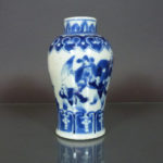 Chinese 19th C. Meiping Vase – Theater Scenery