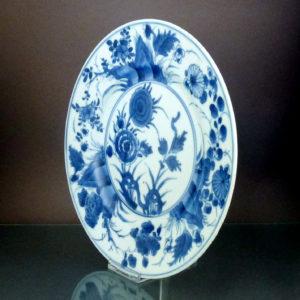Chinese Kangxi Period Plate – Floral Motif