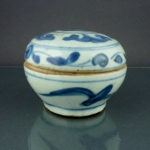 Chinese Wanli Ming Lidded Box – Floral