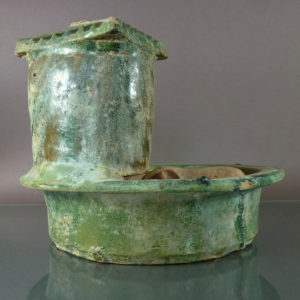 Chinese Han Dynasty Mingqi Model – Pig Farm