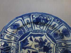 Large chinese Ming Wanli Plate – Grashopper
