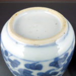18th C. chinese Kangxi Periode Caddy – Lotus